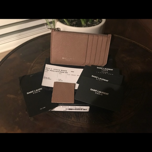 1e1a3082cf3 Saint Laurent Accessories | Sold Fragments Card Holder | Poshmark